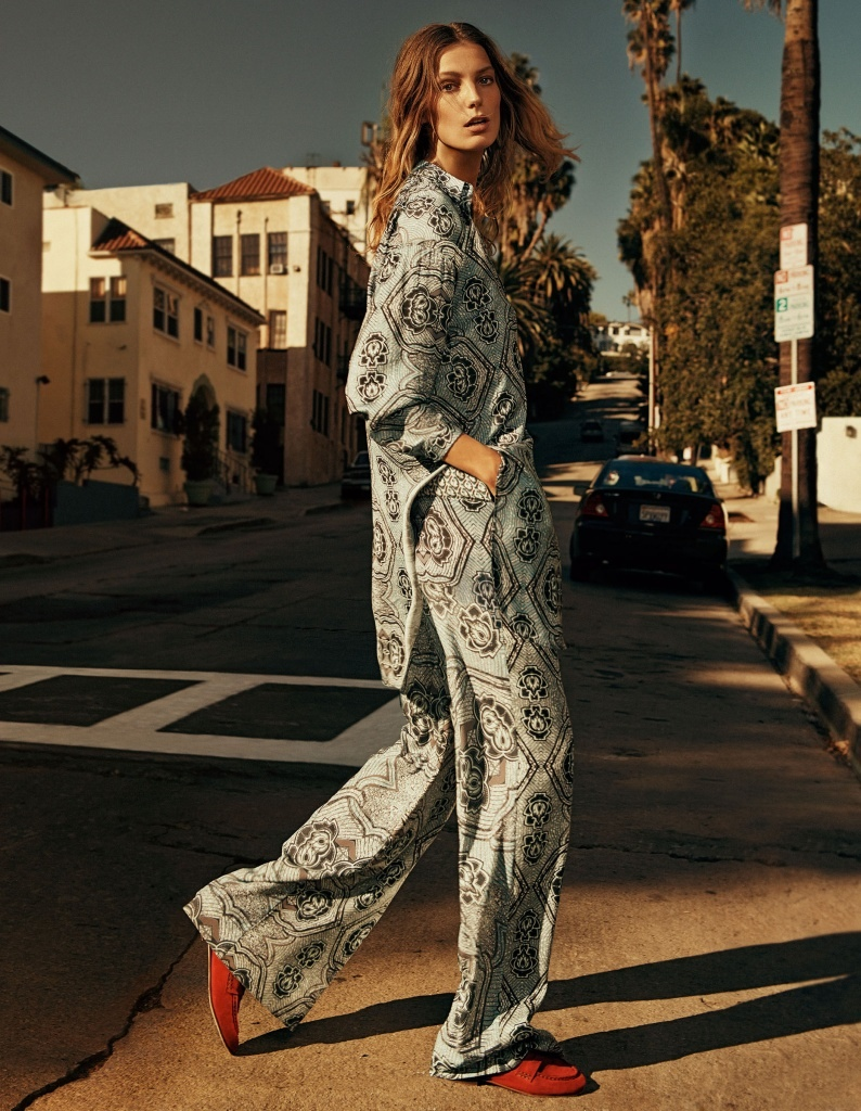 Pajama style pants are all the rage for H&M's spring selection.