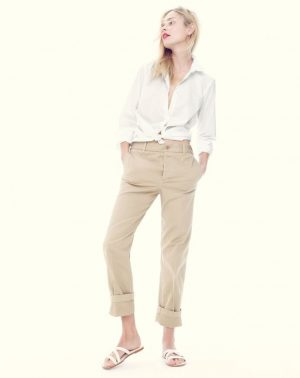 J. Crew Goes Back to Basics for April