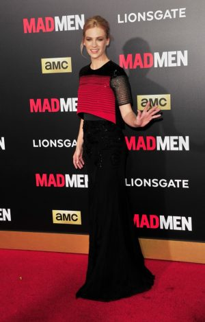 The Stars of 'Mad Men' Got Decked Out in Black & Red to Celebrate the Final Season