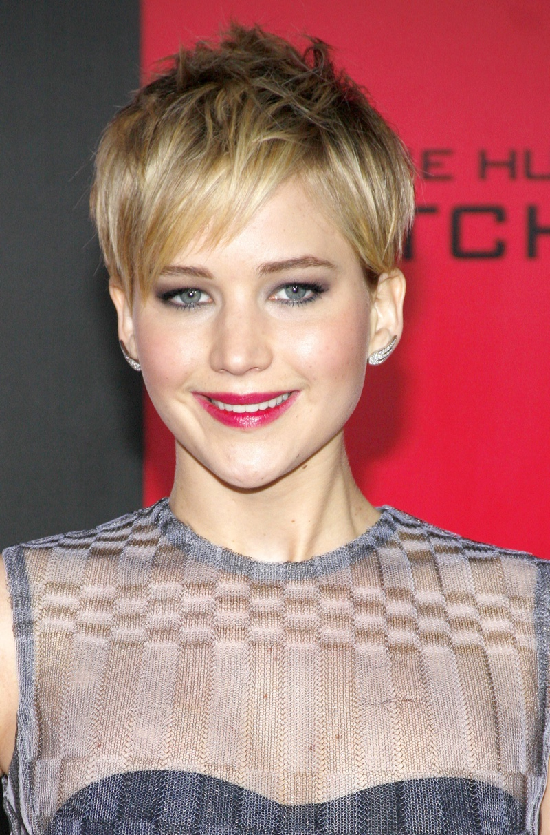 In November 2013, Jennifer unveiled a blonde pixie haircut. Photo: Shutterstock.com