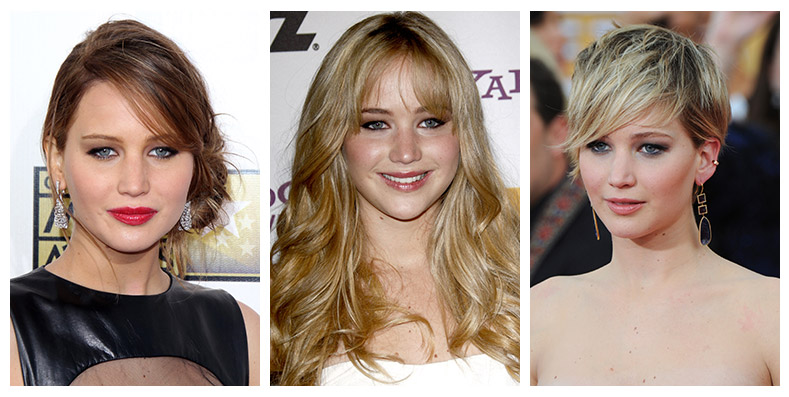 Jennifer Lawrence Hairstyles: From Short to Long Hair | Fashion Gone ...