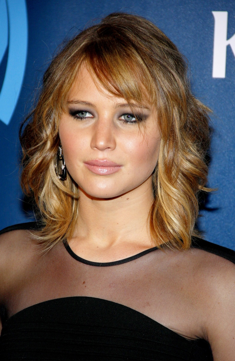 Remarkable Jennifer Lawrence Hairstyles From Short To Long Hair Short Hairstyles Gunalazisus