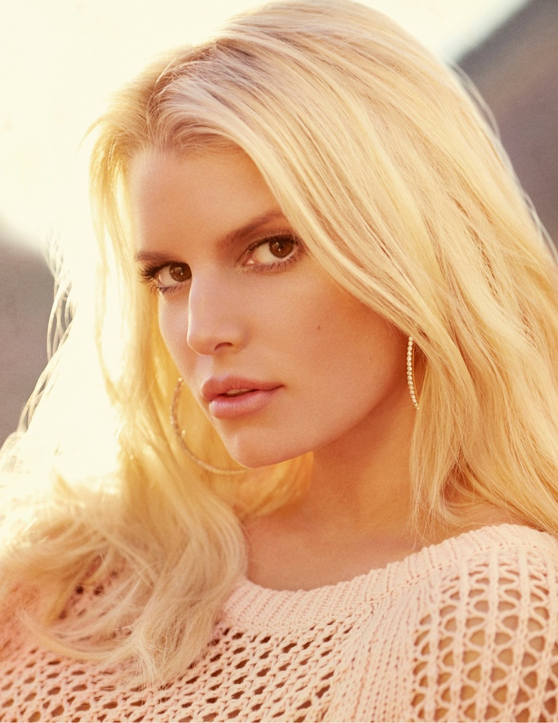 Jessica Simpson stars in the spring-summer 2015 campaign for her eponymous label.