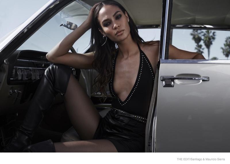 Photo of Joan Smalls Mercedes - car