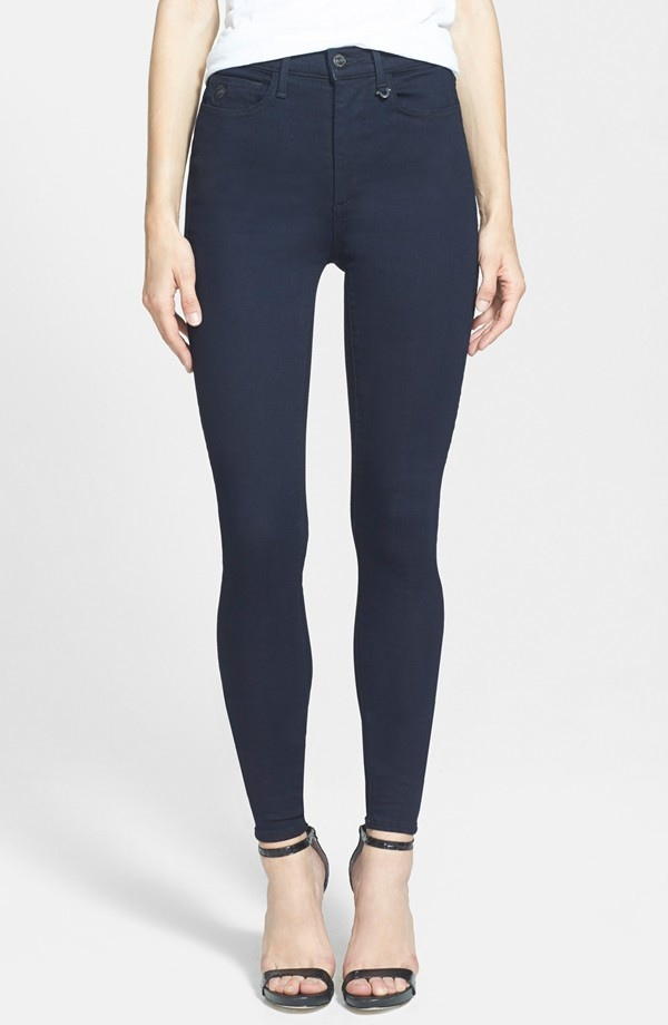 Joan Smalls x True Religion Jeans High Rise Leggings in Indigo available for $218.00
