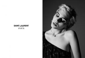 Rocker Julia Cumming Stars in Saint Laurent Spring '15 Ads