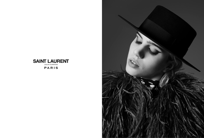 Cara Delevingne Conquers Saint Laurent Punk in Its New Campaign