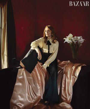 "Julianne Moore Covers Harper's Bazaar, Calls the Mani-Cam ""Humiliating"""