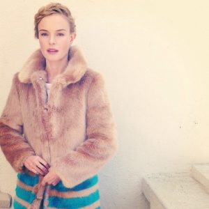 4 Faux Fur Jackets Inspired by Kate Bosworth