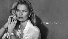 Kate Moss stars in David Yurman's spring 2015 campaign photographed by Peter Lindbergh