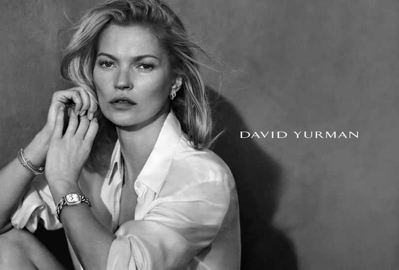 Kate Moss Stuns in David Yurman Spring 2015 Ads