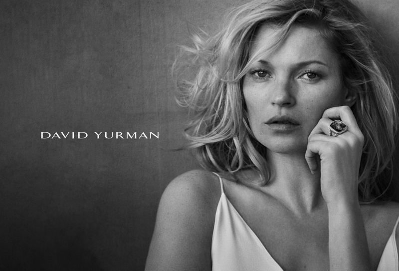 Kate models Yurman's Albion collection