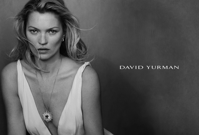 Kate stuns for David Yurman's spring 2015 advertisements