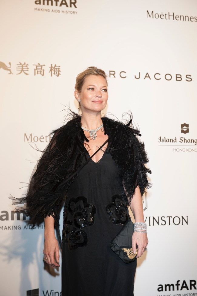 Kate Moss, Gwyneth Paltrow Sparkled at the amfAR Hong Kong Gala Last Night
