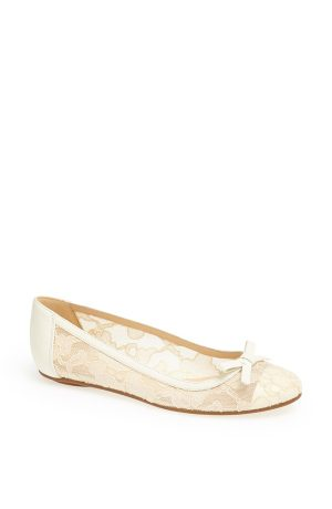 6 Bridal Shoes That Are Flats, Because Who Needs Heels?