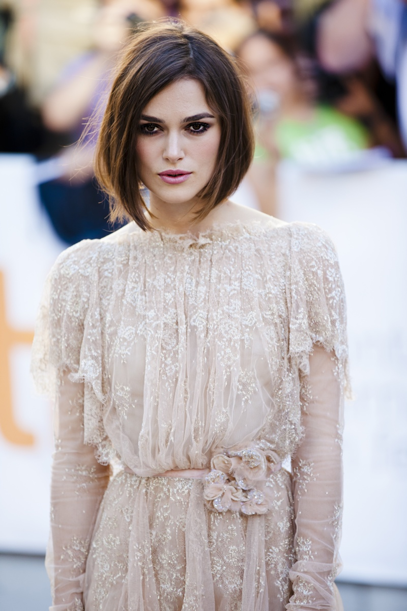 Keira Knightley had a bob hairstyle in 2011. Photo: Shutterstock.com