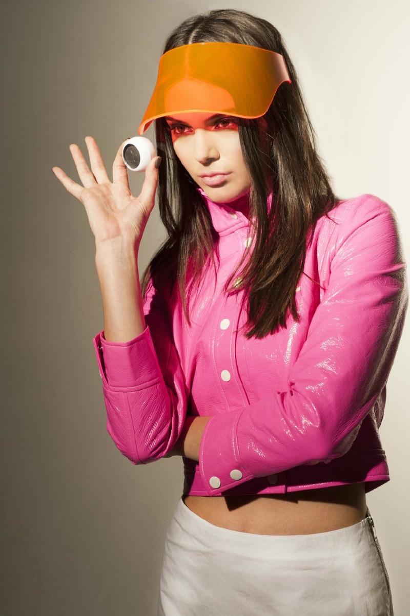 Kendall Jenner Stars in Poptastic Courrèges x Estée Lauder Video