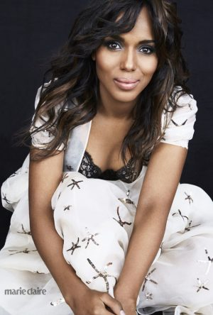 "Kerry Washington in Marie Claire: ""I Didn't Grow Up Thinking I Was Pretty"""