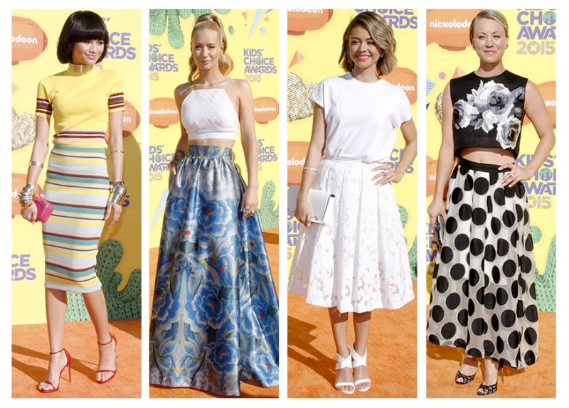 Star style at the 2015 Kids' Choice Awards. Photo: PR Photos