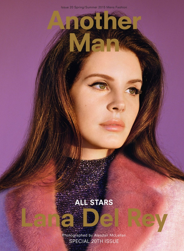 Lana Del Rey Wears Spring 2015 Looks for Another Man