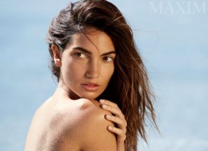 Lily Aldridge Poses Topless for Maxim, But You Won't See Her Completely Naked