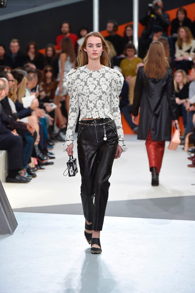 A look from Louis Vuitton's fall-winter 2015 collection
