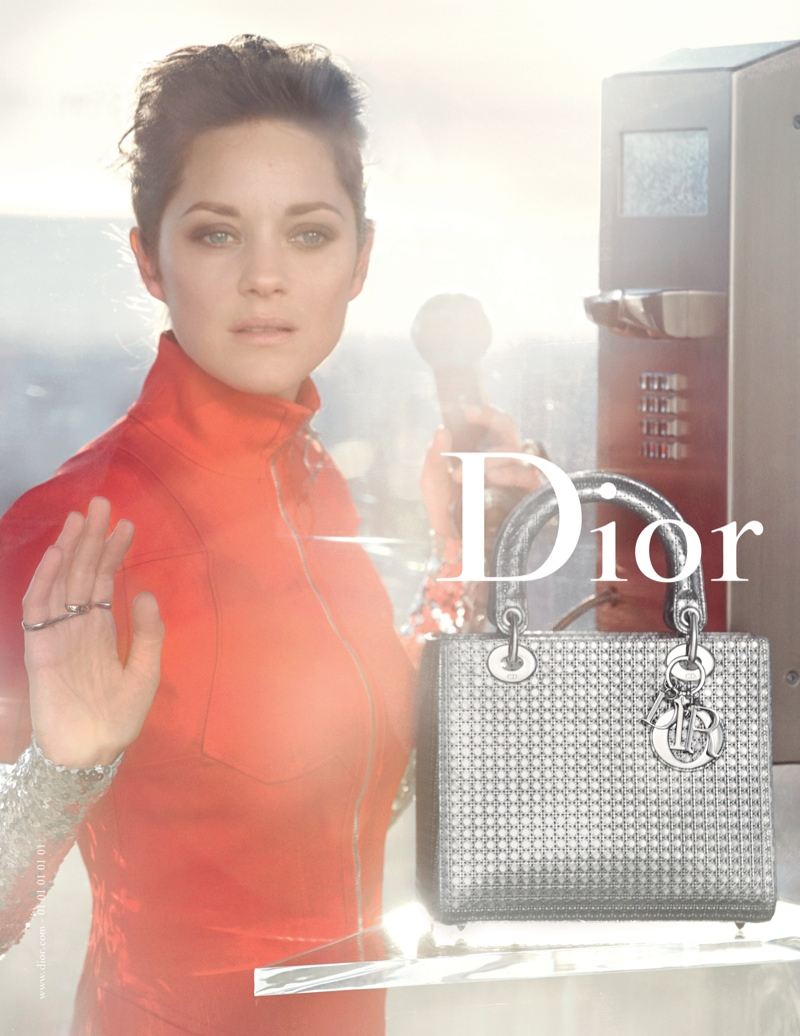 dccdfe789b3d Marion Cotillard stars in the 2015 advertising campaign for Lady Dior.