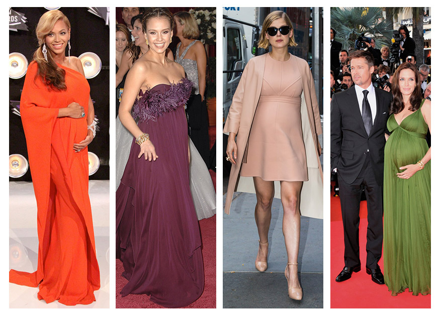 Maternity Style: Celebrity Moms Dress for the Red Carpet