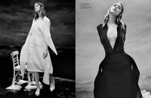 Meghan Collison is Ready for an Icy Spring in Numero Russia