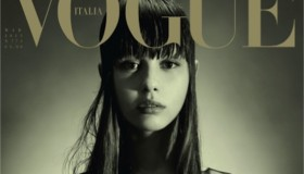 Actress Mia Goth stars on the March 2015 cover from Vogue Italia.