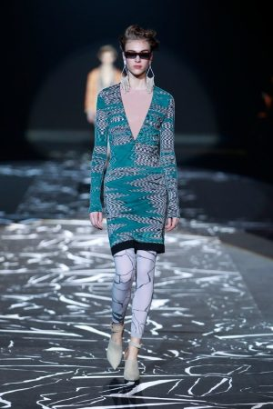 Missoni Takes on Body-Conscious Knitwear for Fall 2015