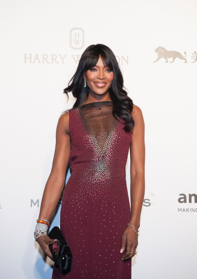 Naomi Campbell at 2015 event. Photo: Harry Winston