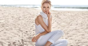 Naomi Watts Hits the Beach for Sportscraft Fall 2015 Campaign