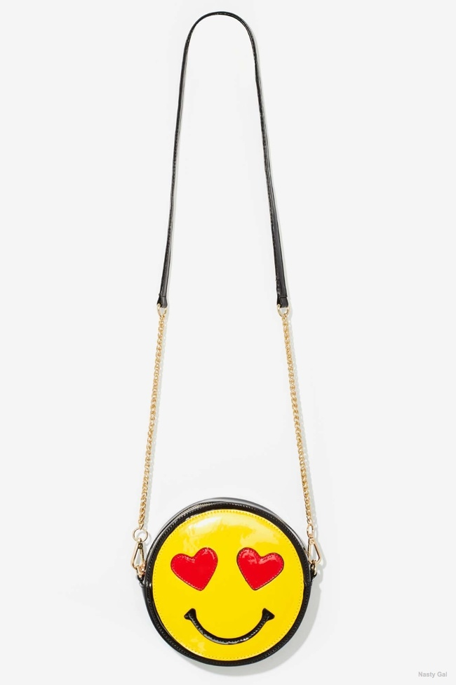 Nasty Gal x Nila Anthony Emojinal Crossbody Bag available for $45.00