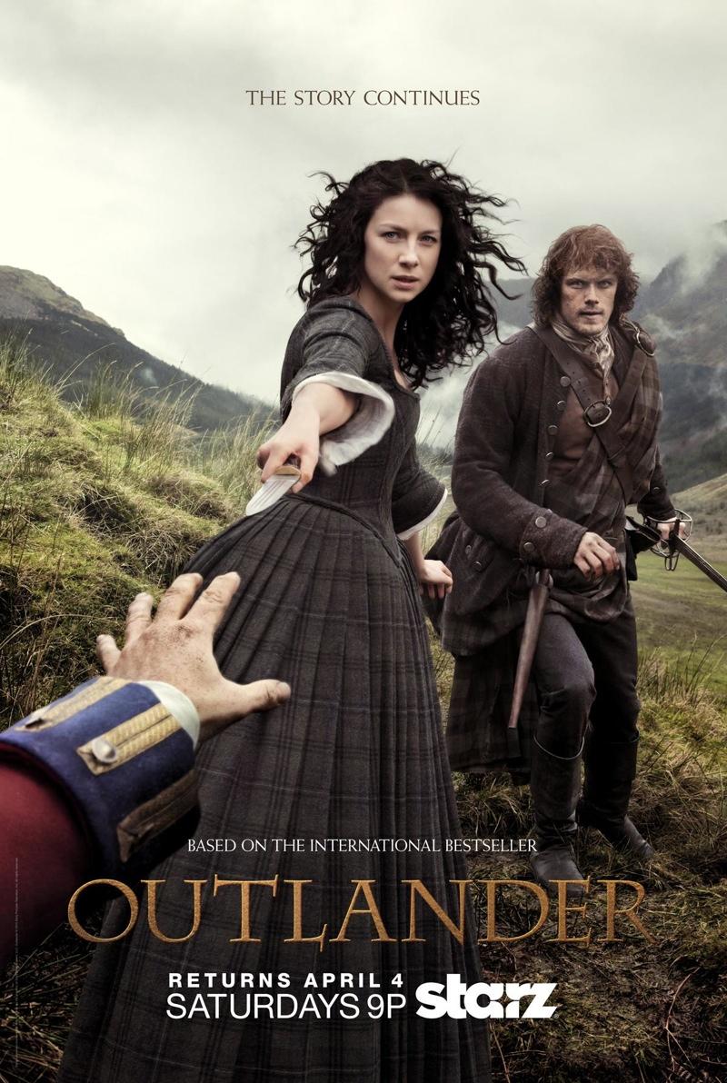 Outlander Spring 2015 Poster. Photo: Starz.