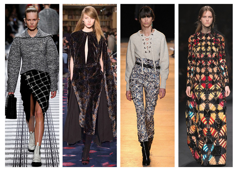 Paris fashion week fall 2015 trends from high waist pants to groovy