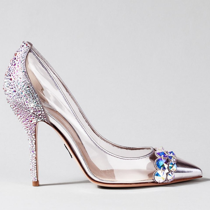 Shoes With Cinderella In The Heels