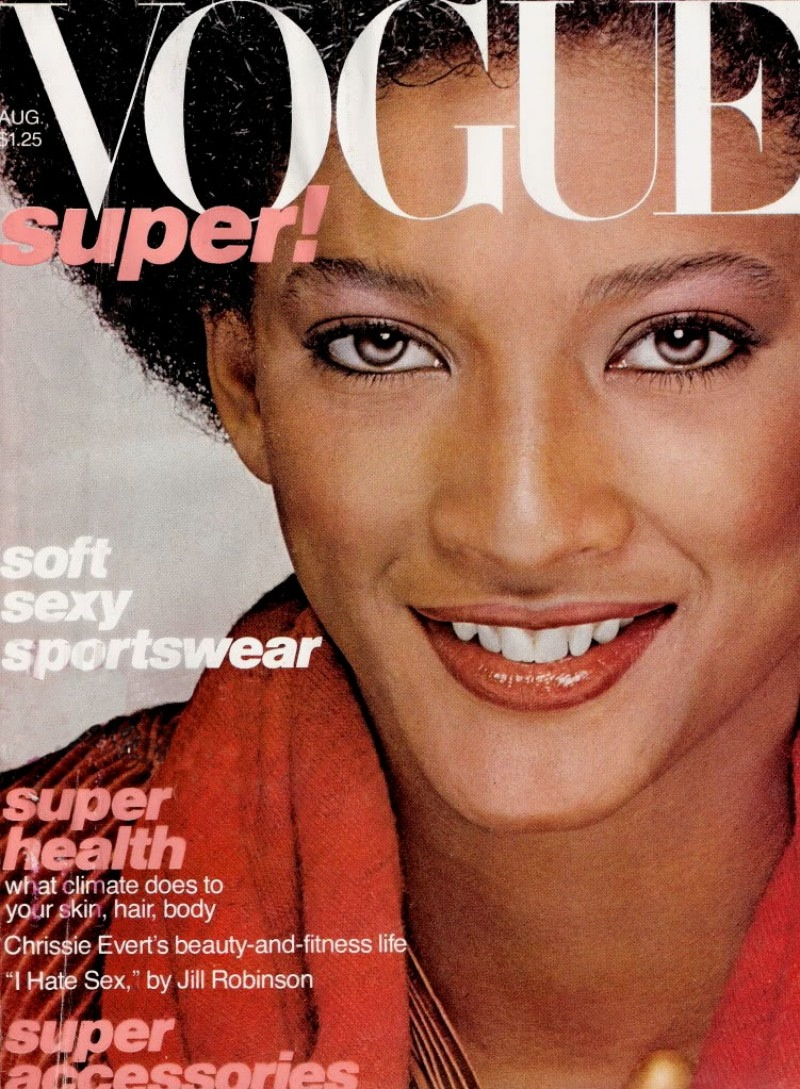 Peggy Dillard landed the August 1977 cover of Vogue.