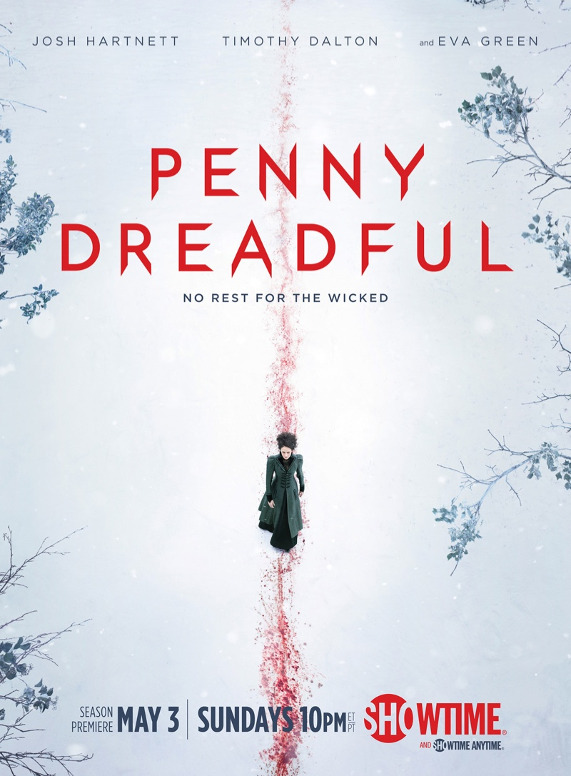 Eva Green stars on 'Penny Dreadful' season 2 poster.