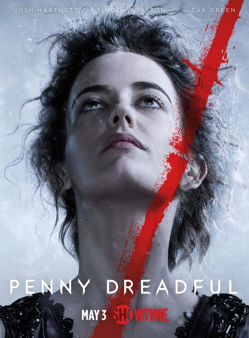 Eva Green as Vanessa Ives for 'Penny Dreadful' season 2 poster.