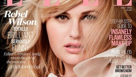 Rebel Wilson covers the May 2015 cover from ELLE UK photographed by Doug Inglish
