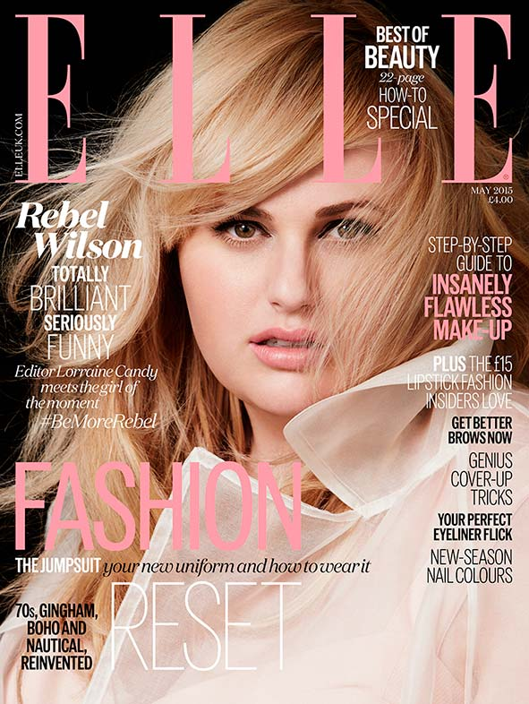 Rebel Wilson Talks Dressing for Her Size with ELLE UK