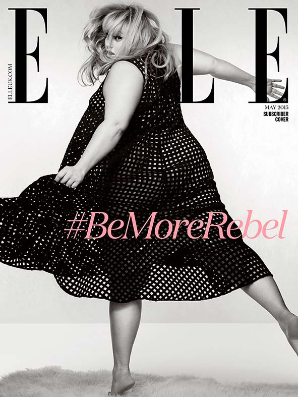 In her interview, she opens up about being the only woman at her size and age in Hollywood.
