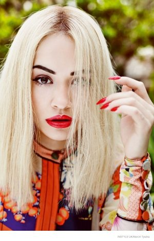 Rita Ora Wears Spring Looks for InStyle UK Shoot
