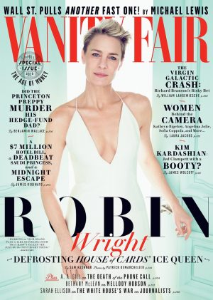 House of Cards' Robin Wright Looks Ethereal on Vanity Fair Cover