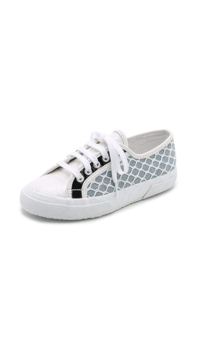 Rodarte x Superga Net Snake Sneakers available for $239.00
