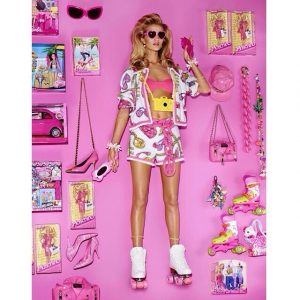 Rosie Huntington Whiteley is a Real Life Barbie for Vogue Japan