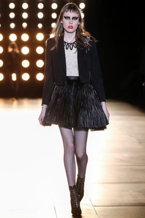 Channel Your Inner Rock & Roll Princess with Saint Laurent
