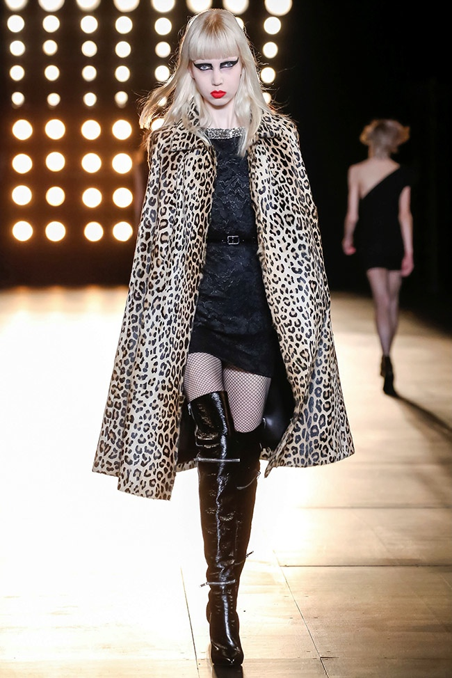 A look from Saint Laurent's fall-winter 2015 collection