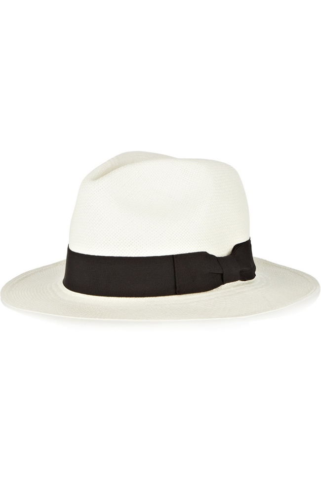 The slouch hat was worn by many women in the 1930s. Today, the Panama hat has the same look. Sensi Studio Classic Toquilla Straw Panama Hat.